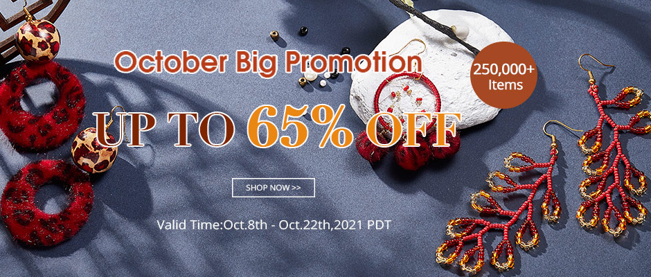 Mybeadsfindings October Promotion